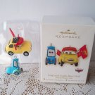 Luigi and Guido from Disney Pixar's Cars 2008 Hallmark Ornament
