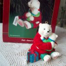 Dad Christmas Ornament by Carlton Bears 2000