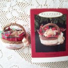 1994 Grandmother Hallmark Christmas Ornament Basket