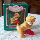Cinnamon Bear Hallmark 5th in Series Porcelain 1987