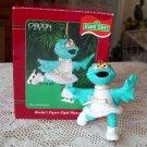 Rosita's Figure Eight Wishes Sesame Street Carlton Ornament