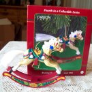 Rocking Horse Fun 4th in series Carlton Christmas Ornament 2001