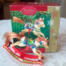 Rocking Horse Fun 15th in series Carlton Ornament 2004