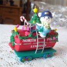 1994 Carlton North Pole Limited Tanker Christmas Express Train Ornament