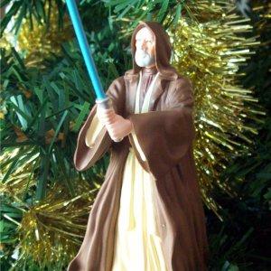 Obi Wan Kenobi Star Wars Jedi Hallmark 2000 Ornament