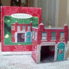 Fire Station No 1, third in Hallmark Town and Country Series 2001 Christmas Ornament