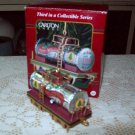 Christmas Express 1998 Carlton ornament with tankard train car third in Collectible Series