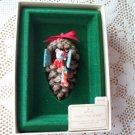 1982 Pinecone Home Hallmark Mouse Ornament