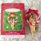Puppy Love Yorkshire Terrier Dog Hallmark 10th in Series ornament 2000
