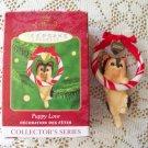 Puppy Love Yorkshire Terrier Dog Hallmark 10th in Series ornament 2000