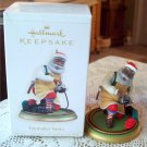 Toymaker Santa 2006 Hallmark Christmas Ornament  Train African Amer