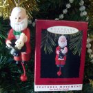 Hallmark 1993 That's Entertainment Santa Magician