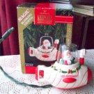 Hallmark 1992 Santa Sub Magic Blinking Lights Ornament