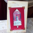 Our Christmas Dancing 2004 Hallmark Twirl Dome Ornament