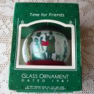 Friendship Hallmark 1984 Glass Ball ornament