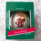 Norman Rockwell Christmas Ornament Hallmark 1989