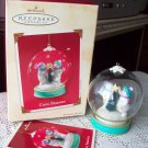 Cool Friends 2002 Hallmark Snowman Globe Ornament