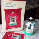 Cool Friends 2002 Hallmark Snowman Globe Ornament
