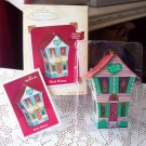 Christmas Ornament New Home by Hallmark 2004 Light Tin