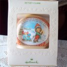 Betsey Clark #9 Christmas 1981 Hallmark Satin Ball Ornament
