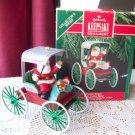 Here Comes Santa #12 Festive Surrey 1990 Hallmark ornament