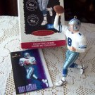 1996 Troy Aikman Football Legends Second in Series Hallmark Keepsake Ornament