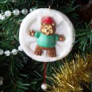 Snow Bear Angel 1993 Hallmark Christmas Ornament