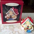 Hallmark Happy New Home 1995 Christmas Ornament House