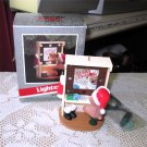 Hallmark Magic Ornament 1989 Backstage Bear Lighted Vanity Makeup