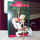 First in Tobin Fraley Carousel Series 1992 Hallmark Christmas Ornament