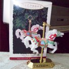 Carousel Horse Tobin Fraley 2nd in Series Fine Porcelain and Brass 1993