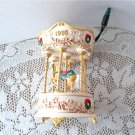 Tobin Fraley 1995 Holiday Carousel #2 Horse by Hallmark Magic Light Sound