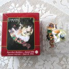 Purr-fect Holiday Carlton Kitten Christmas Ornament Cat 1996