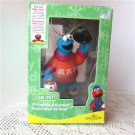 Cookie Monster Sesame Street Holiday Christmas Ornament