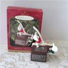 Hershey 1997 Hallmark Christmas Ornament Sweet Discovery Friends Chocolate Milk Mice