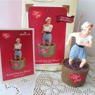 Hallmark Lucille Ball Lucy's Italian Movie Wind-up I love Lucy ornament