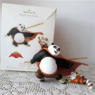 Po and Shifu 2008 Hallmark Christmas Ornament Kung Fu Panda