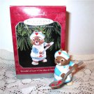 Hallmark Spoonful of Love Nurse Christmas Ornament 1998 Medicine