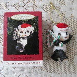 Childs Fourth Christmas 1994 Hallmark Teddy Bear Years.