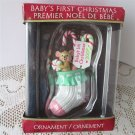 Baby's First Christmas 2006 Knit Stocking Ornament American Greeting