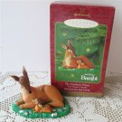 The Newborn Prince Disney Bambi Walt Disneys Hallmark Christmas Ornament 2000 Mother and Baby