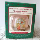 Betsey Clark First in series Home for Christmas Ornament 1986