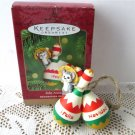 Feliz Navidad Mexican Hallmark Christmas Ornament 2000 Mouse on Maracas