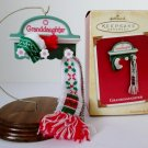 2004 Granddaughter Hallmark Christmas Ornament Coat Rack