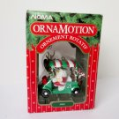 Santa in Golf Cart Noma Ornamotion Christmas Fore Rotating