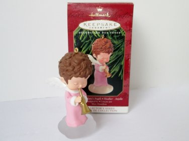Heather Mary's Angels #12 twelfth in Hallmark series Christmas Ornament