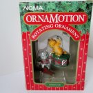 Noma Ornamotion Curious Cats Christmas Rotating Ornament