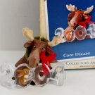 Cool Decade 2004 Hallmark Series Moose Christmas Ornament