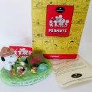 Hallmark Snoopy Campfire Friends Peanuts Gallery Figurine