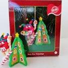 Carlton M & M Tasty Tree Trimmings 1999 Christmas Ornament Candy